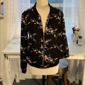 Like New, Dalia Floral Bomber Jacket